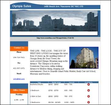 Olympia Suites