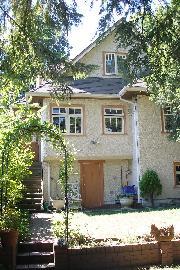 Front door to Suite (Back of House)