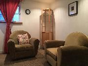 Living room w Sofa Chairs