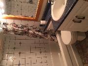 Shared full bathroom